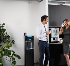 Kaffemaskine til kontor
