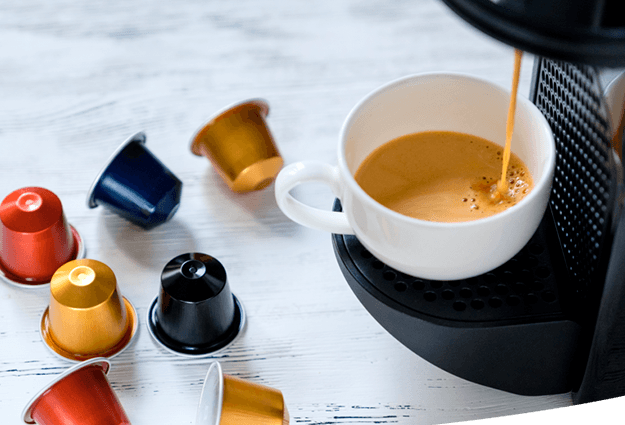 Kaffekapselmaskin til virksomheder